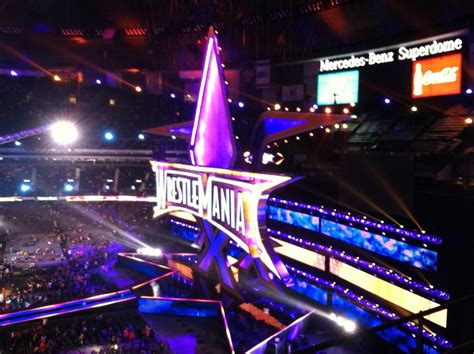 wwe wrestlemania 30 results april 6th 2014 pwmania wrestlemania 30 stage set www pixshark com images