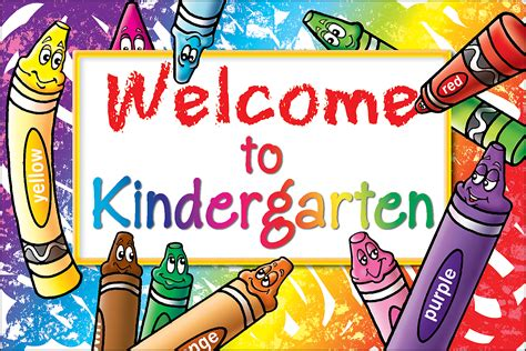 kindergarten images welcome to kindergarten postcards tcr4860