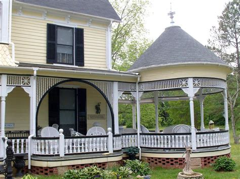 porch homes gazebo porch and spandrel on the hill there are