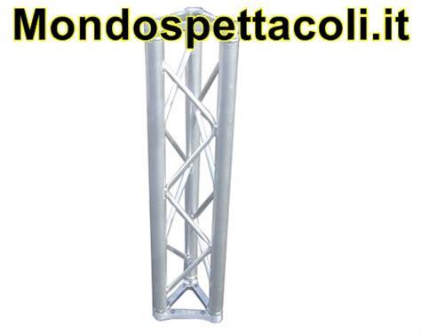 tralicci alluminio usati t25 traliccio in alluminio sezione triangolare da 25cm l