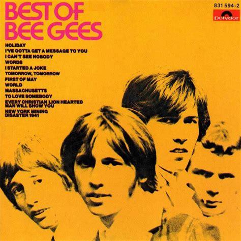 best of bee gees best of bee gees by bee gees cd i ve gotta get a message