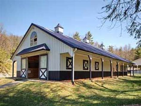Metal Buildings With Living Quarters Floor Plans Metal Barn Style Buildings Homes Horse Barns Building