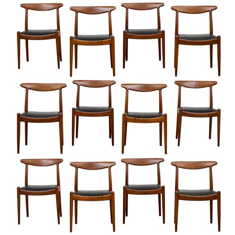 Hans Wegner Dining Chairs Hans Wegner Dining Chair Model W2 At 1stdibs