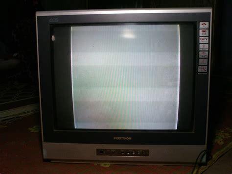 aisy tv polytron mx5217 gambar menyempit kiri kanan
