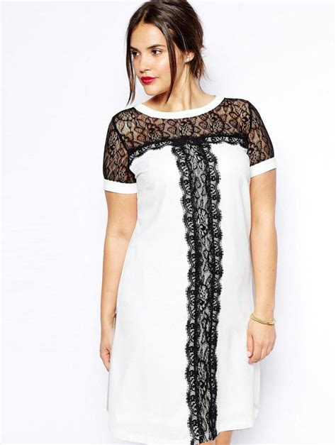 Ladie Dress dress for plus size pluslook eu collection