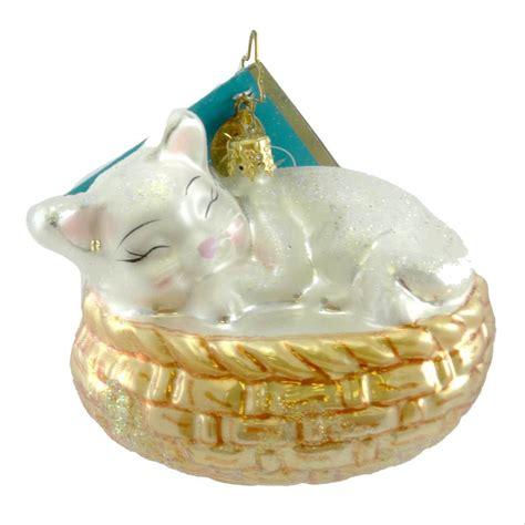 animal ornaments christopher radko animal ornaments