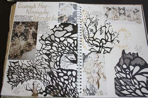 pattern sketchbook pages fashion textiles sketchbook monochromatic print pattern