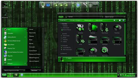 themes for windows 7 matrix the matrix theme for windows 7 keripik citul