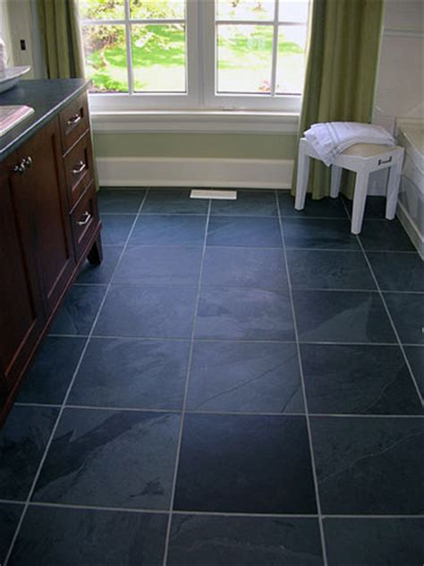 slate tiles for bathroom floor 3 great reasons to choose a slate tile floor for your home