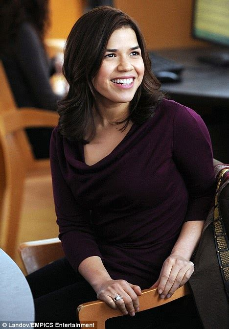 Not So Betty The Photoshoot With America Ferrera by America Ferrera Unrecognisable As She Makes Tv Return In