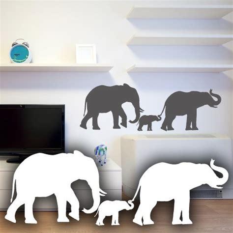 wandtattoo elefantenfamilie kinderzimmer wandtattoo elefant f 252 rs kinderzimmer oder wohnzimmer