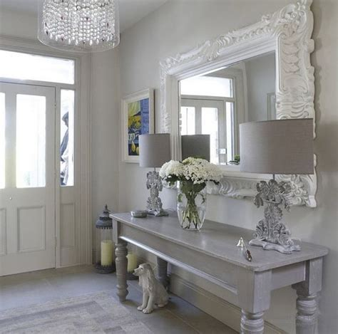 shabby chic grey 25 shabby chic hallway and entryway d 233 cor ideas shelterness