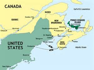 pei map canada prince edward island images