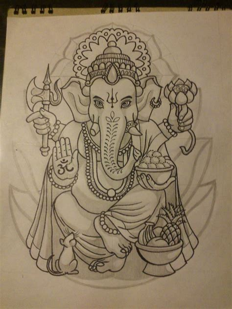 lord ganesha tattoo designs lord ganesh design by srwolvier on deviantart