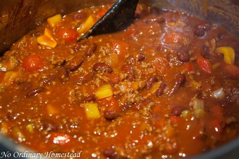 best chili the best chili recipe no ordinary homestead