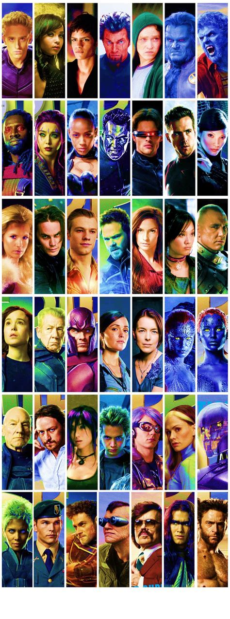marvel film with all characters almost all the cast of x men movies over the years x men