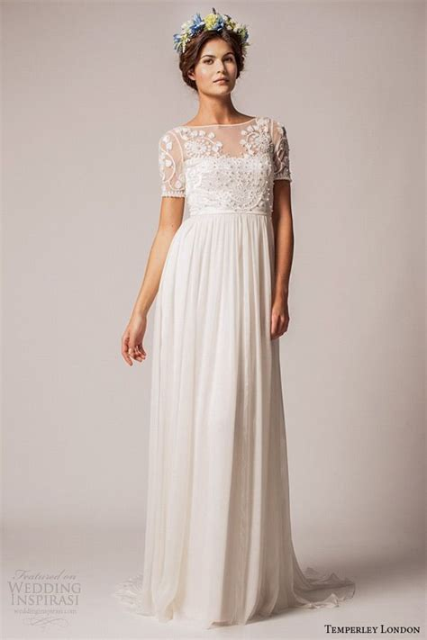 17 Best ideas about Empire Wedding Dresses on Pinterest