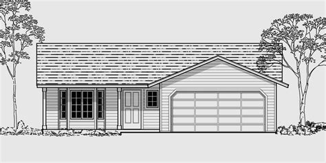 Single Family House Plans Floor Plans Home Plans Portland Nw Small House Plans With Two Car Garage