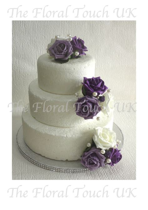 Wedding Cake Flowers Uk by Cake Toppers The Floral Touch Uk Cake Tier Displays