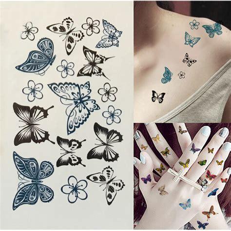 tattoo paper kit online get cheap black butterfly tattoo aliexpress com