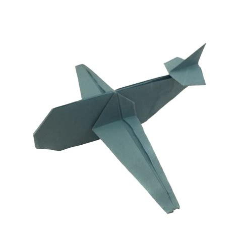 How To Make A Paper Airplane That Flips - up up and away with an origami airplane origami