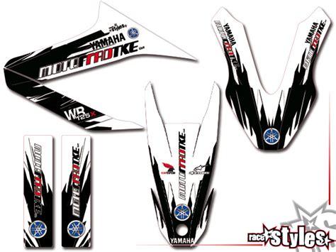 Modellbau Aufkleber Selber Machen by Yamaha Wr 125x R Dt 187 Factory Mx 187 03 Basic Kit