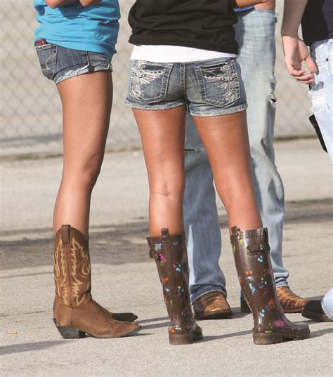 shorts with boots one ideas cowboy boots and shorts