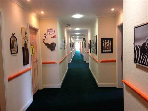 layout of a nursing home home art care home told to take down art which helps dementia