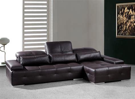 chocolate brown sectional sofas modern chocolate brown sectional sofa