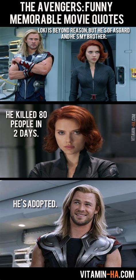 marvel film quotes the avengers movie funny memorable quotes 7 pics
