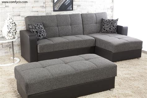 Leather And Velvet Sofa Fascinating Furniture For Living Room Decoration Using Black And Grey Sectional Sofa Sectional