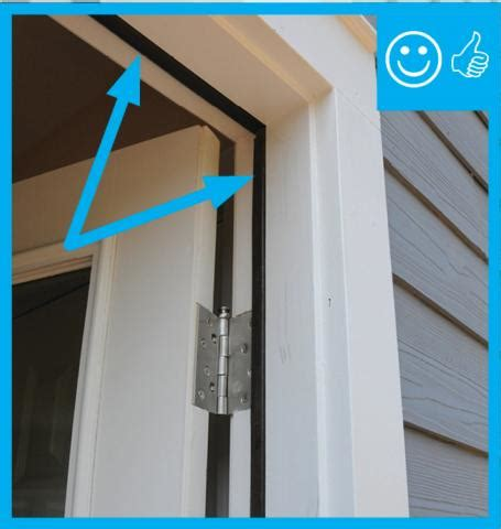 Exterior Door Weatherstripping Types Air Sealing Doors Adjacent To Unconditioned Space Building America Solution Center