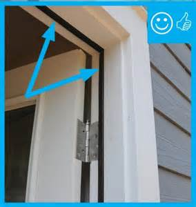 Front Door Weather Stripping by Air Sealing Doors Adjacent To Unconditioned Space