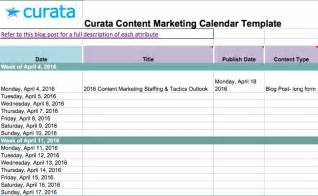 editorial schedule template editorial calendar templates for content marketing the