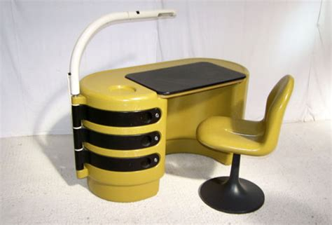 Plastic Desk For by Ebay 1970s Space Age Hadi Plastic Desk By Bayer For