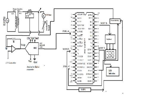 differential relay circuit diagram