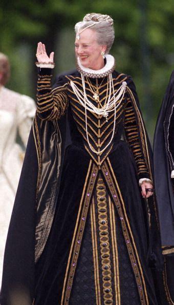 Queen Margrethe (Denmark) rockin the Ren look.   History
