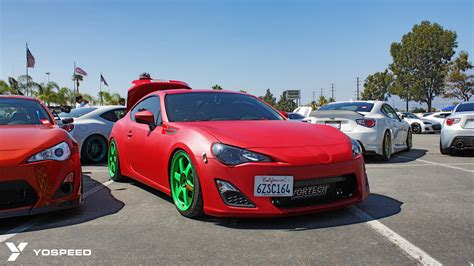 subaru brz matte red 86 fest iii car clubs daily drivers and more part one