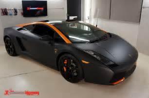 Lamborghini Gallardo Wrap Lamborghini Gallardo Matte Black Vinyl Wrap Carbon