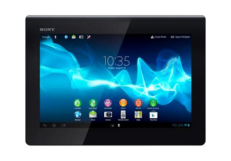 android tab sony isn t considering competing with tablet pricing going after samsung s crown as top