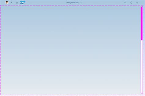 web layout full screen full screen layout sap fiori design guidelines