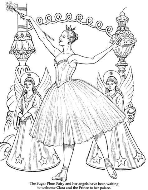 christmas ballerina coloring pages christmas tree millicent mouse s blog
