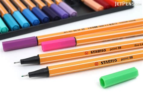 Colored Marker Pen stabilo point 88 fineliner marker pen 0 4 mm 25 color