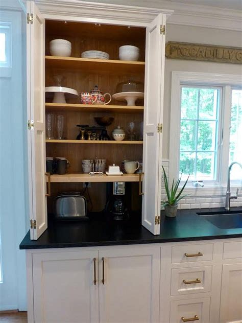 cabinet for kitchen appliances before after kitchen makeover ideas home bunch