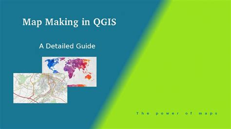 qgis tutorial making a map map making in qgis