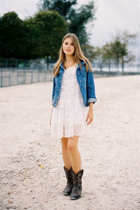 match with denim 10 ways to wear cowboy boots