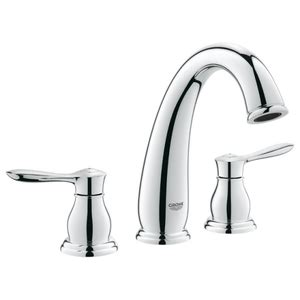 grohe parkfield bathroom faucet g20390000 parkfield 8 widespread bathroom faucet chrome at shop ferguson com