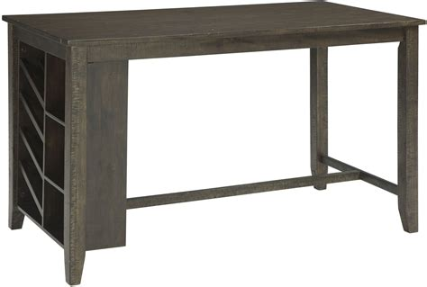 Light Brown Dining Table Rokane Light Brown Rectangular Counter Height Dining Table D397 32