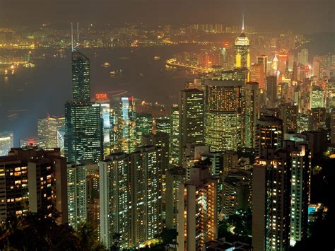 Outdoor Lighting Hong Kong Amazing Landscape Of The World Hong Kong Lights Is Better Free Wallpaper World