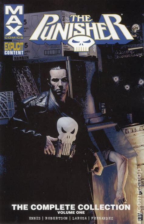 punisher max tpb 2016 marvel the complete collection comic books